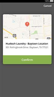 consumer in laundromat